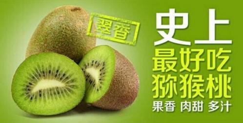 水果界的佼佼者——翠香猕猴桃