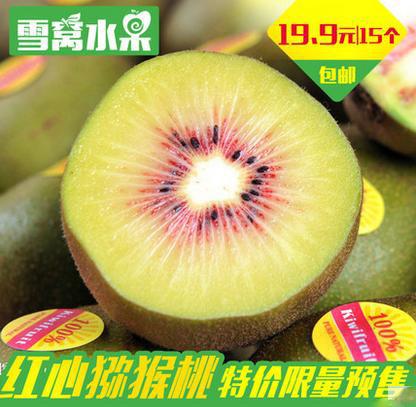 四川特产红心猕猴桃